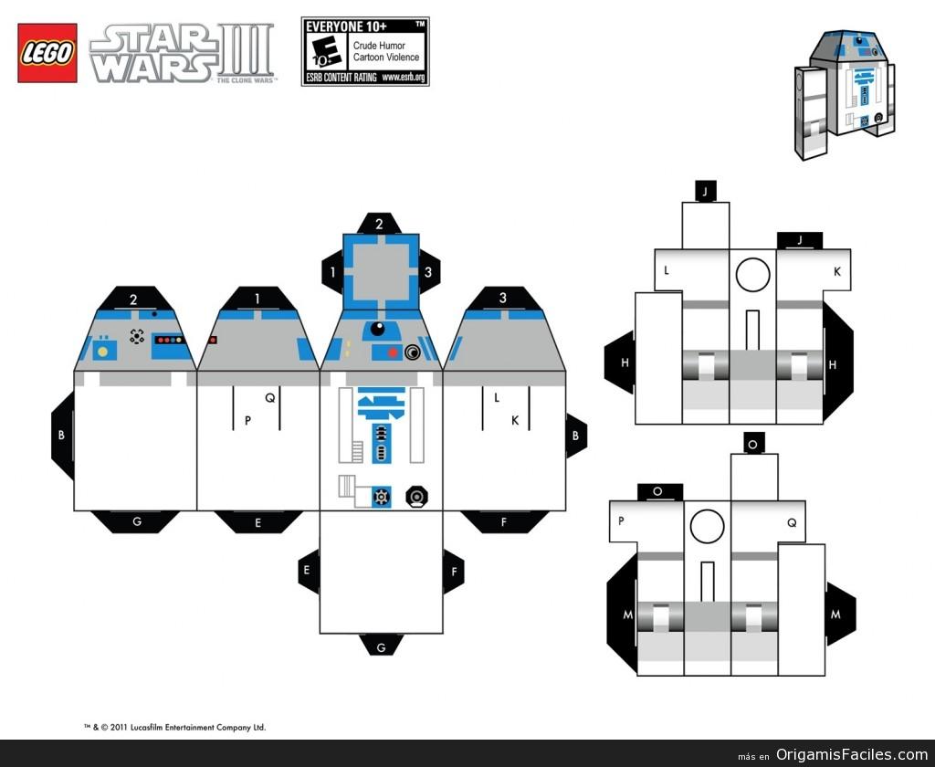 papercraft r2d2