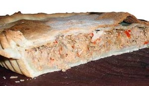 Una deliciosa y facil tarta de atún