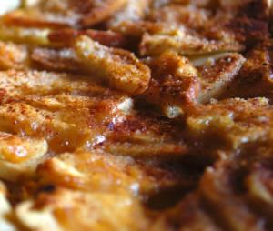 tarta de manzanas al microondas
